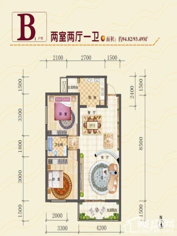 光辉社区·汉江国际户型图
