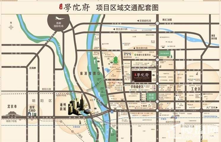 金燕学院府位置图