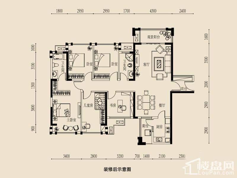 春霖一品房子的电路图