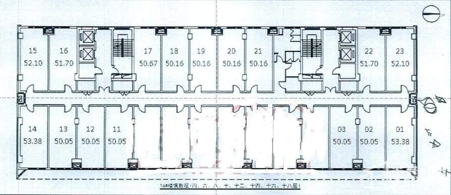 16号楼户型图