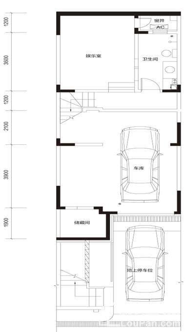 御泉联院C1 地下一层户型图