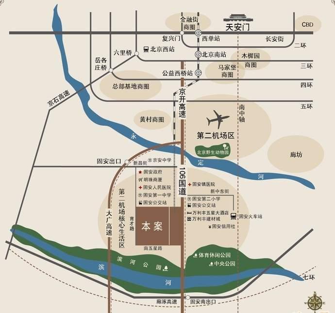 中盛星河湾位置图
