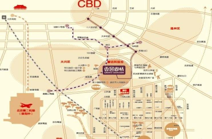 香邑廊桥位置图