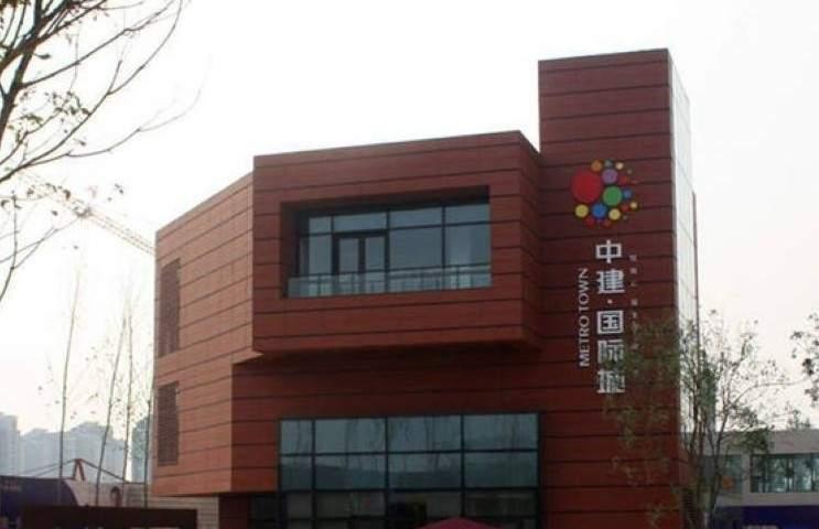 中建国际城实景图