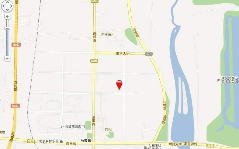 鲁能7号院溪园位置图