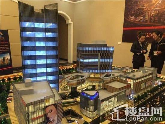 瑞安中润商业广场实景图