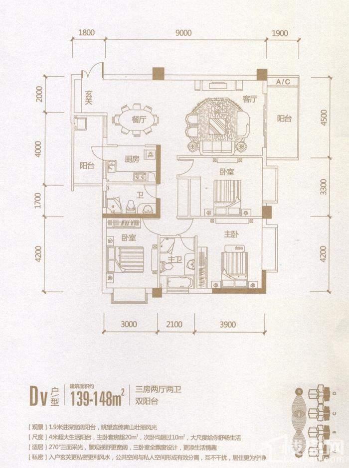 DV户型(04、05)号房