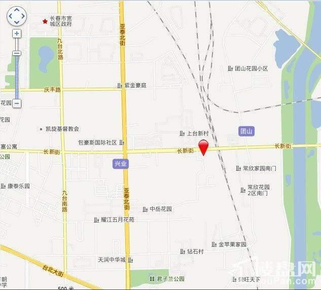 东安白金首府位置图