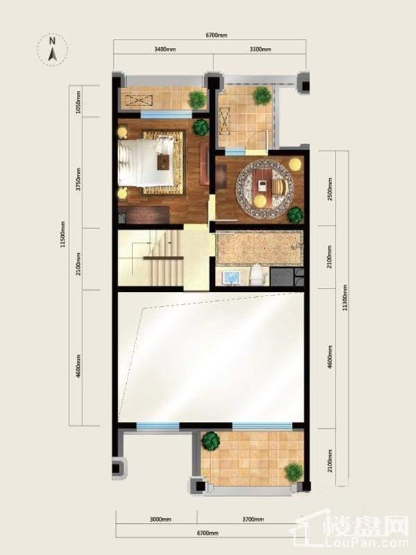 美式别墅L8二层