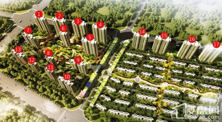 绿地国宝21城楼座图