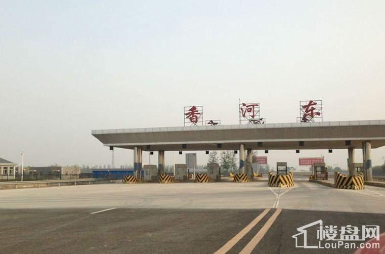 绿地国宝21城周边配套图-高速香河东出口