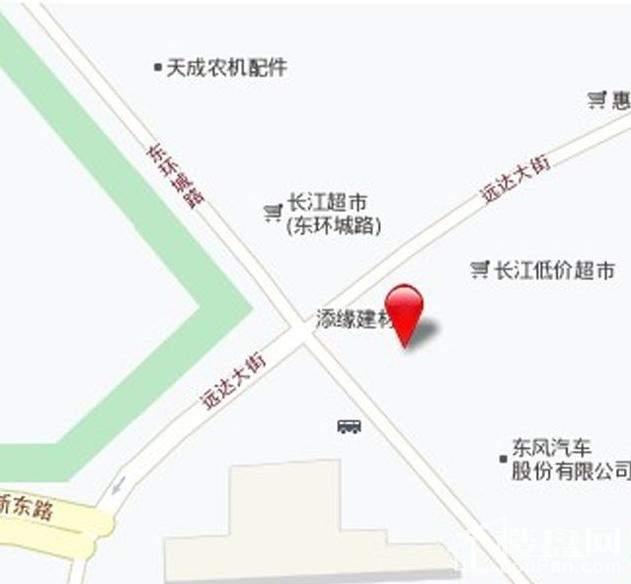 中天北湾新城位置图
