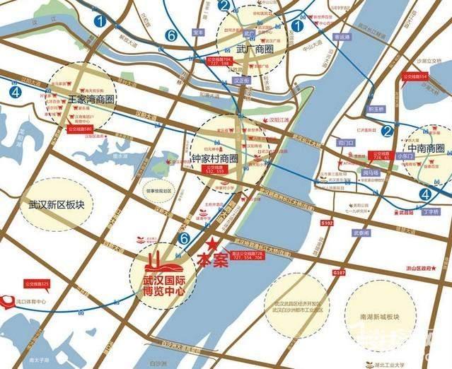 武汉恒大御景湾位置图