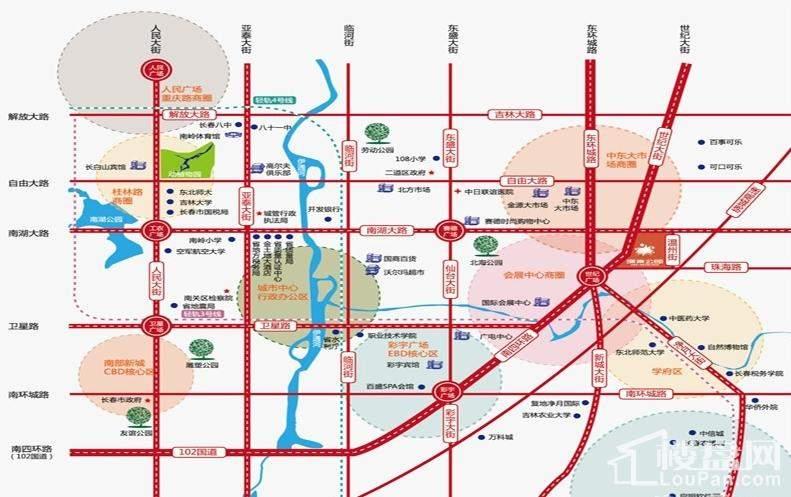 像素公园位置图