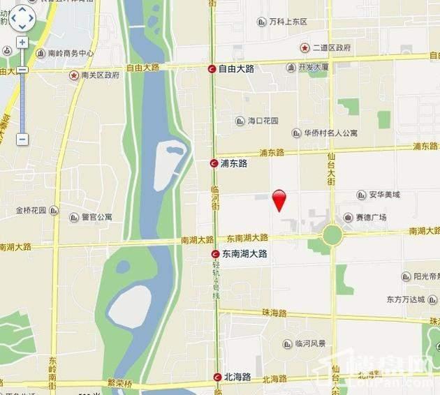 嘉惠第五园位置图