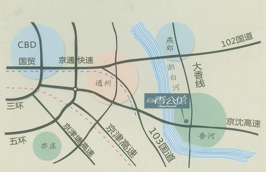 香公馆位置图