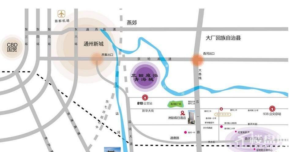 青海城交通图