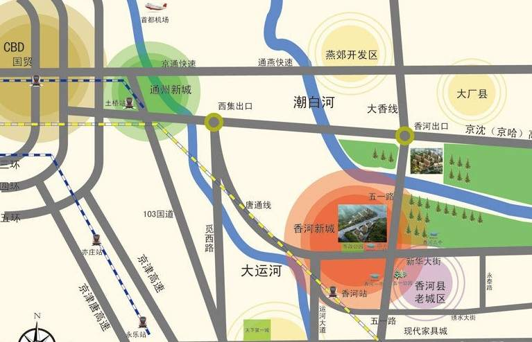 香榭家园位置图