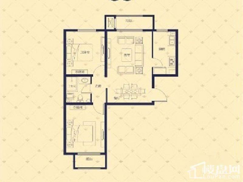 1#/3#楼A户型5#楼A/D户型
