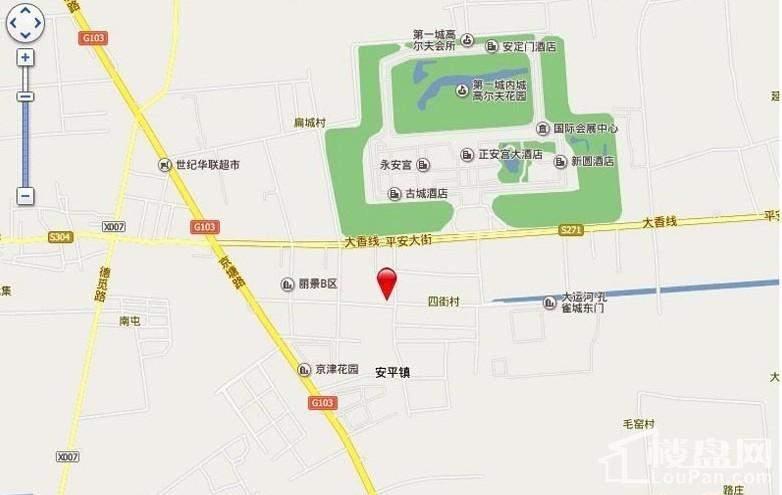 壹城公馆交通图