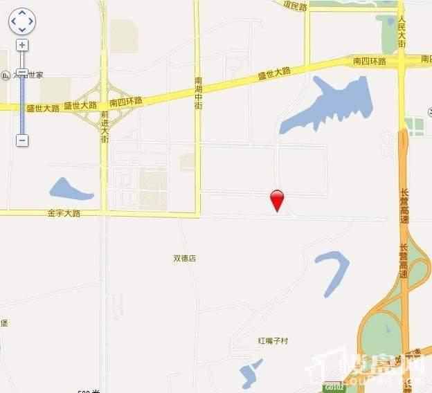 国信中央新城位置图