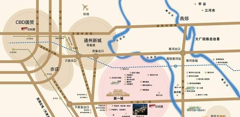 壹城公馆位置图