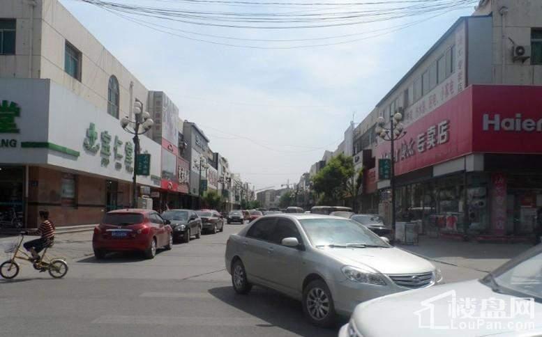 香城俪景二期配套图周边-商业街