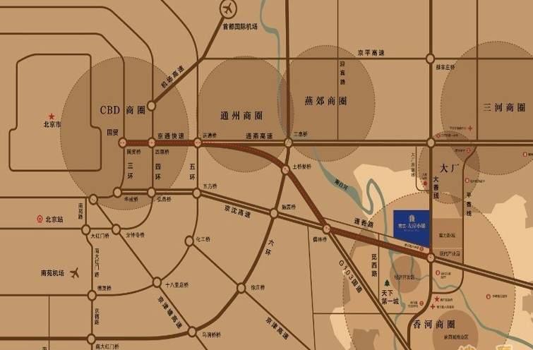 秀兰左岸小镇位置图