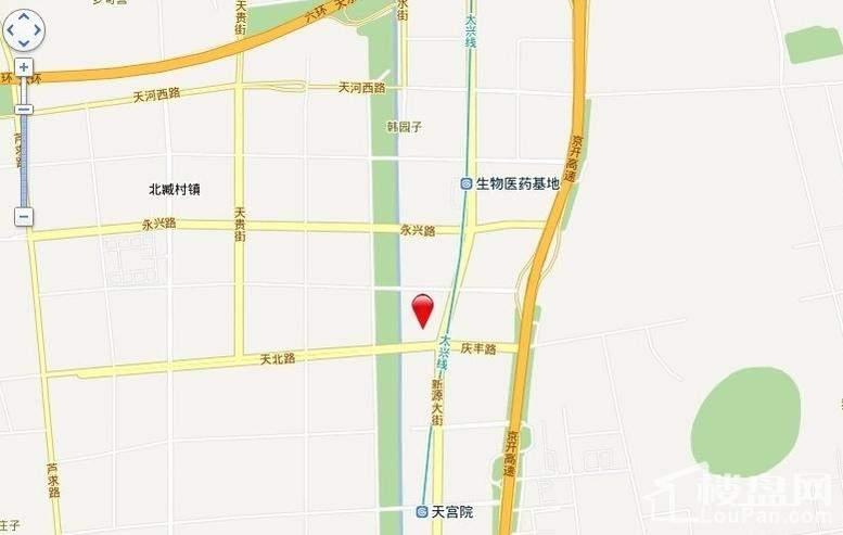 中国水电·云立方位置图