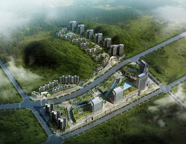凯威万国城效果图