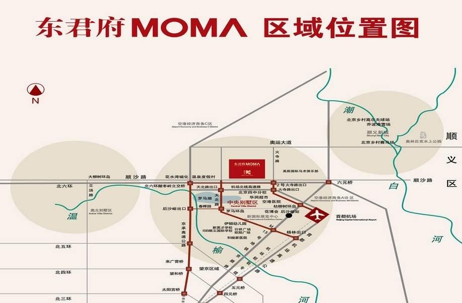 MOMA万万树(东君府MOMA)位置图
