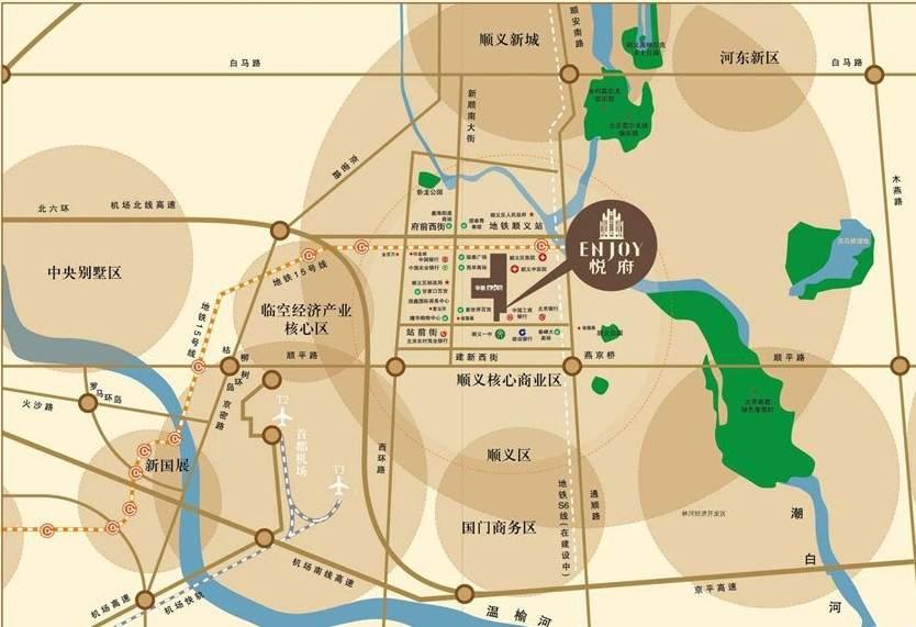 金街悦府位置图