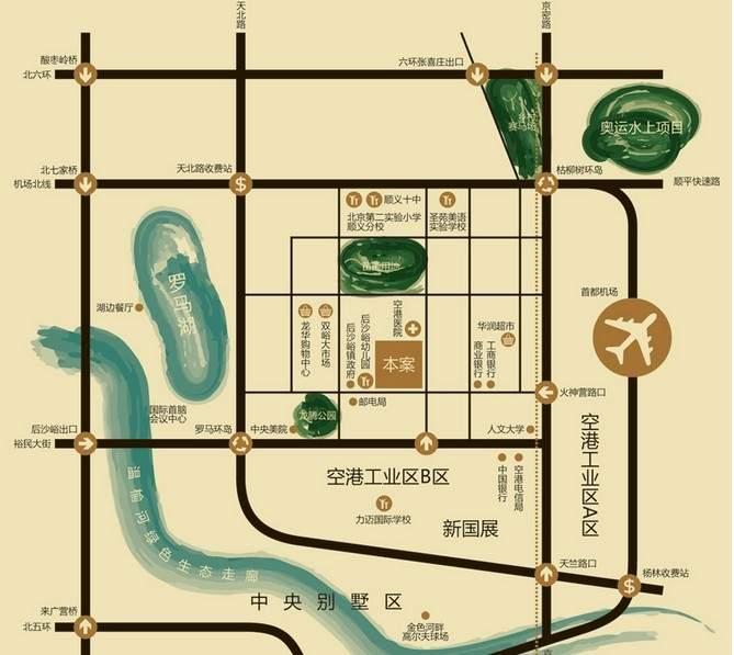 阿凯笛亚庄园位置图