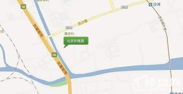 北京玫瑰园位置图