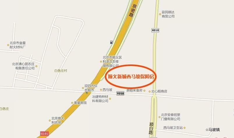 中晟新城位置图