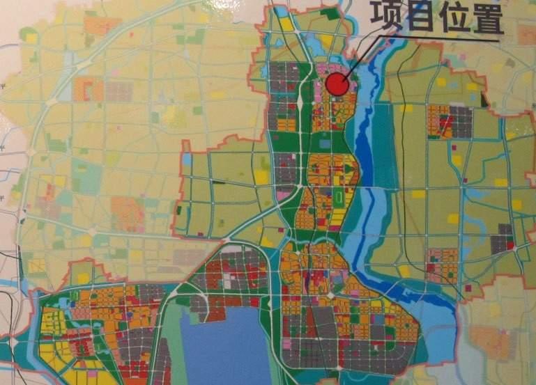 牛栏山镇安乐村定向安置房项目位置图