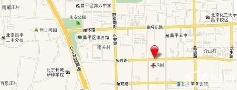 东林苑位置图