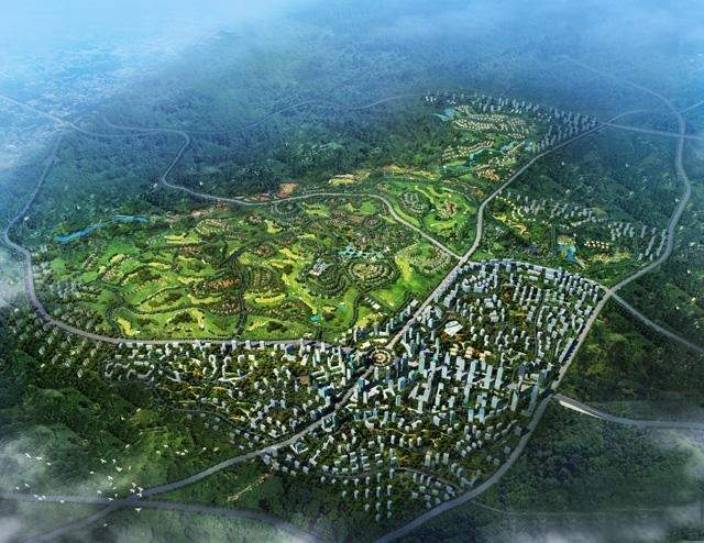 中铁国际生态城效果图
