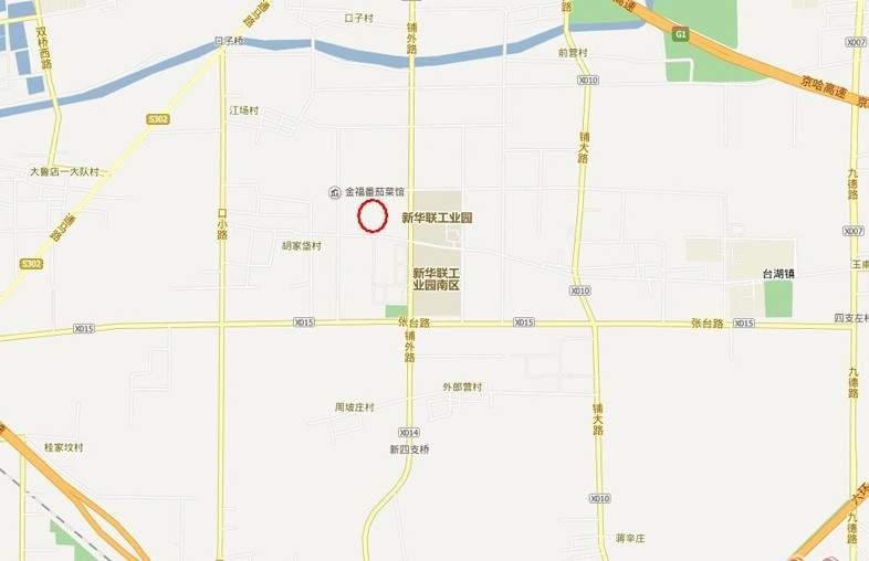 东亚尚品台湖位置图