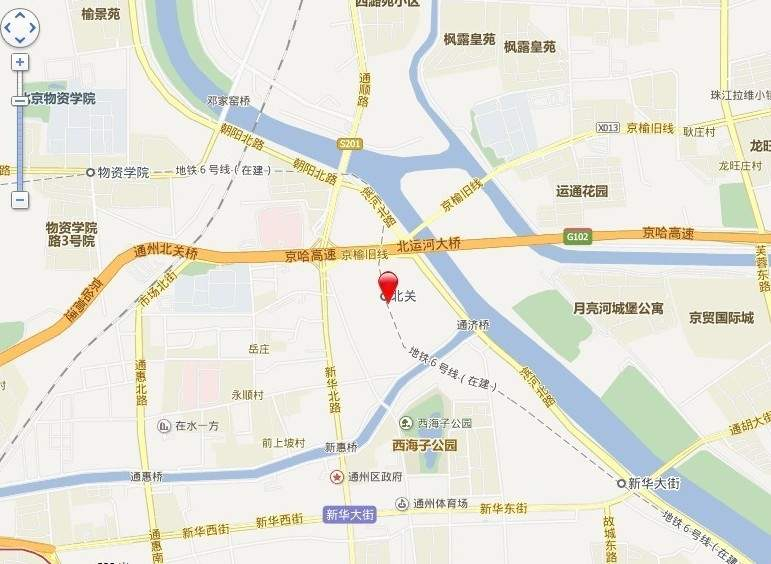 华业新北京中心位置图