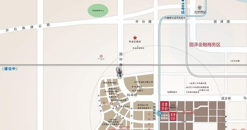 北京诺德中心位置图