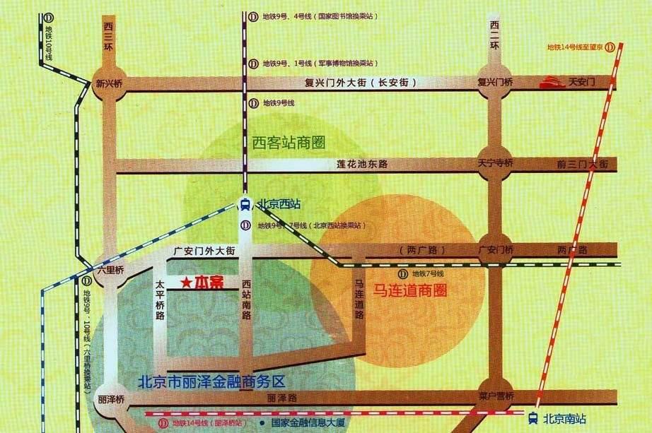 西区国际广场(一品公馆)位置图