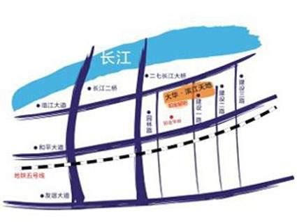 大华铂金郦府位置图