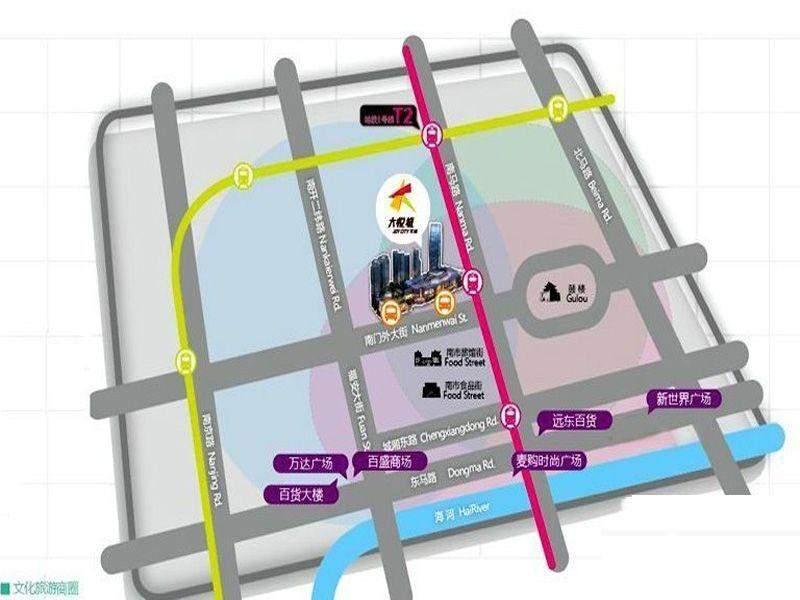 天津大悦城位置图