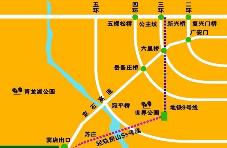 观湖华城位置图
