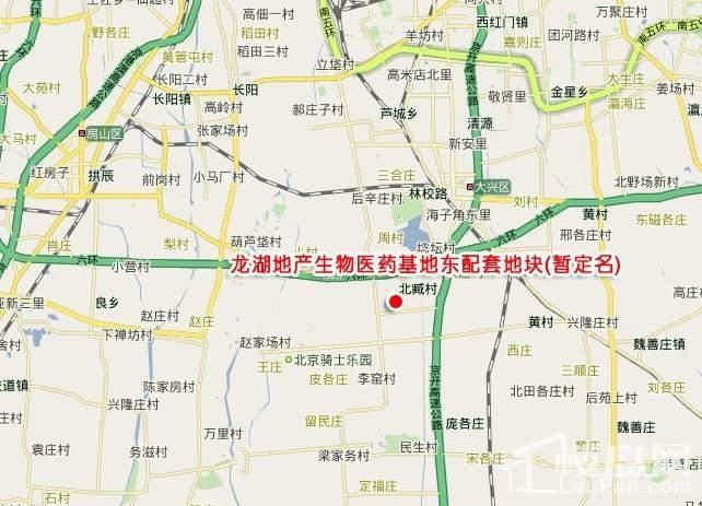 龙湖·时代天街位置图