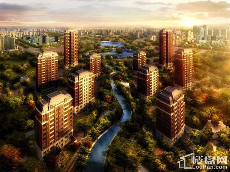 万科新梅江柏翠园 实景图