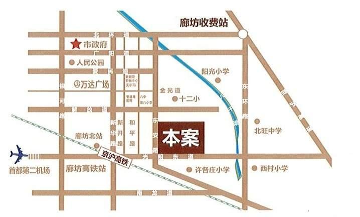 世锦名城位置图