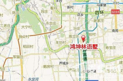 鸿坤林语墅位置图