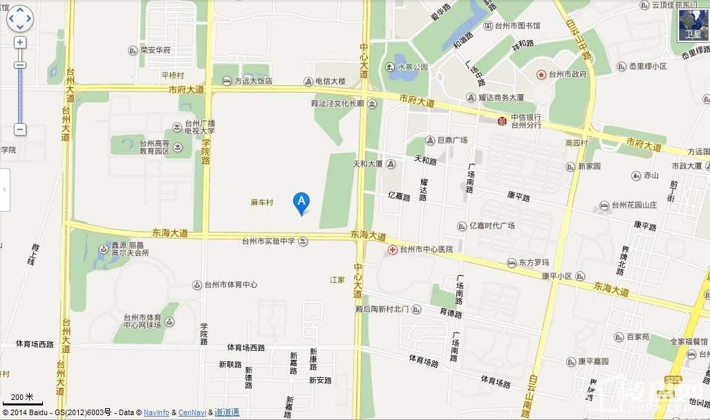 刚泰国际中心位置图